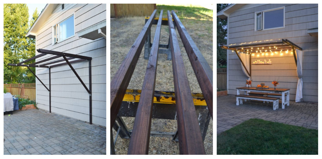 how to build an easy pergola