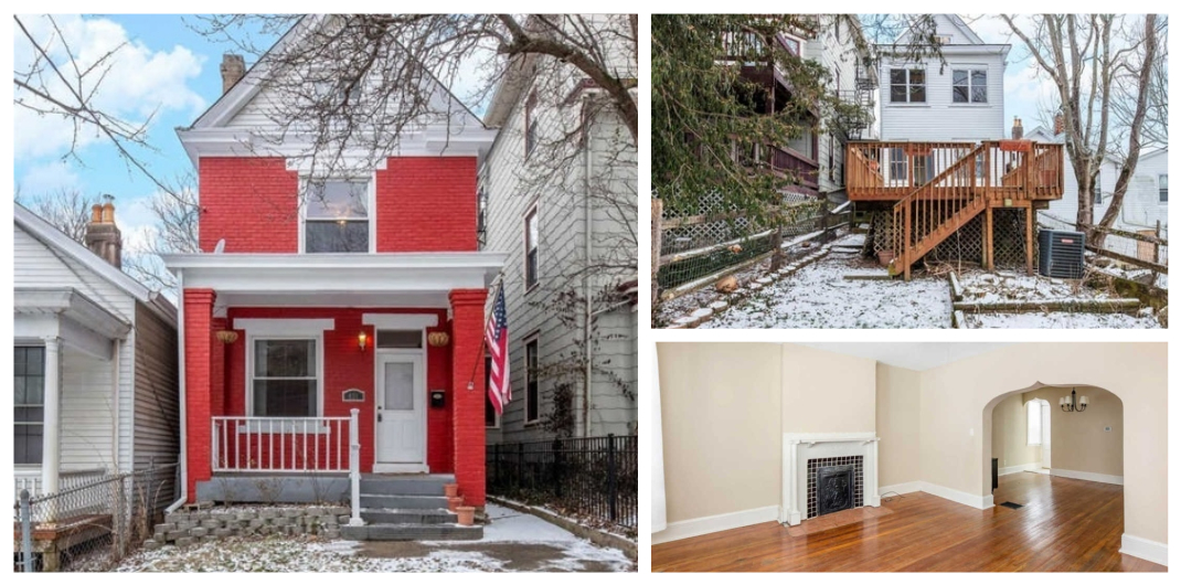 red home for sale in Cincinnati, OH
