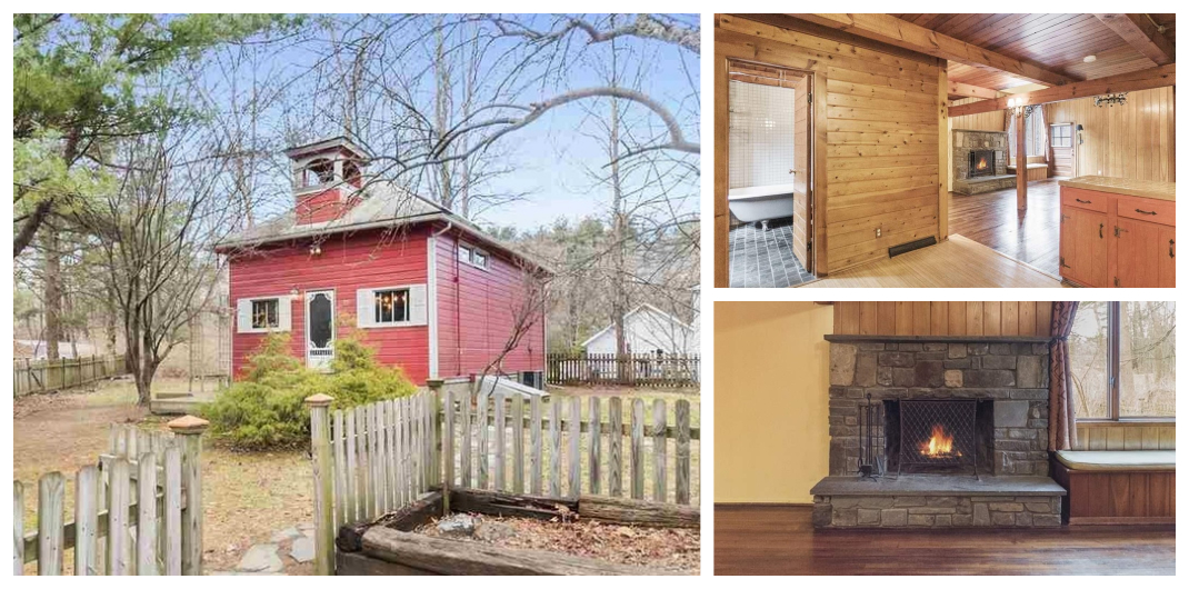 red home for sale in woodstock ny