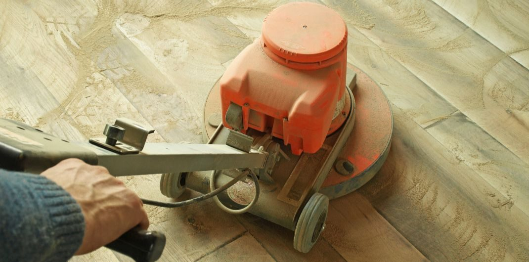 bleaching hardwood floors