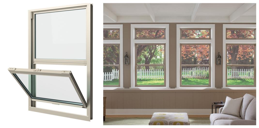 single hung window style