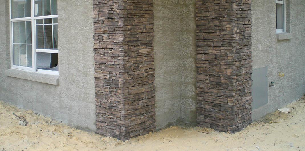 accent stone corners