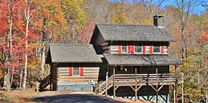 log cabin for sale in todd nc