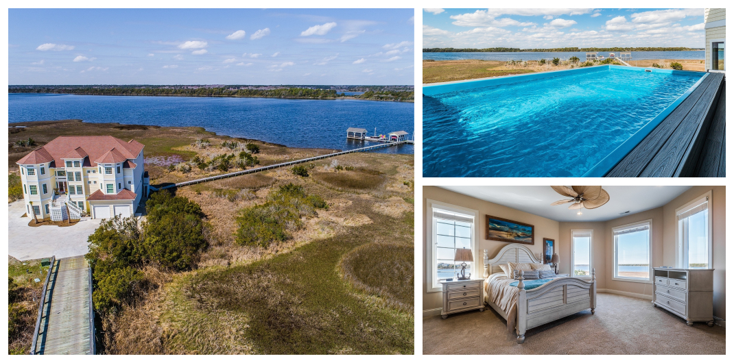 island home for sale in topsail beach nc