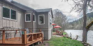 lake house for sale in trail or