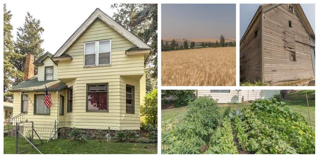 Washington state farmhouse for sale