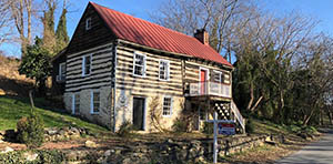 log cabin for sale in waterford VA