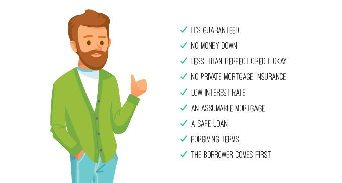 Beneficios de un préstamo otorgado por VA