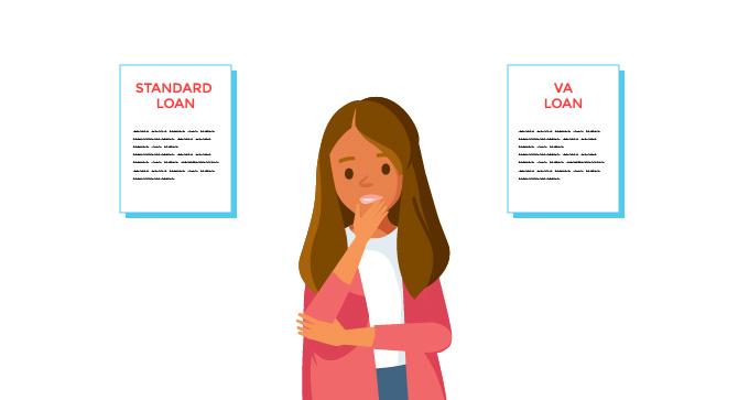 Elegir un préstamo otorgado por VA