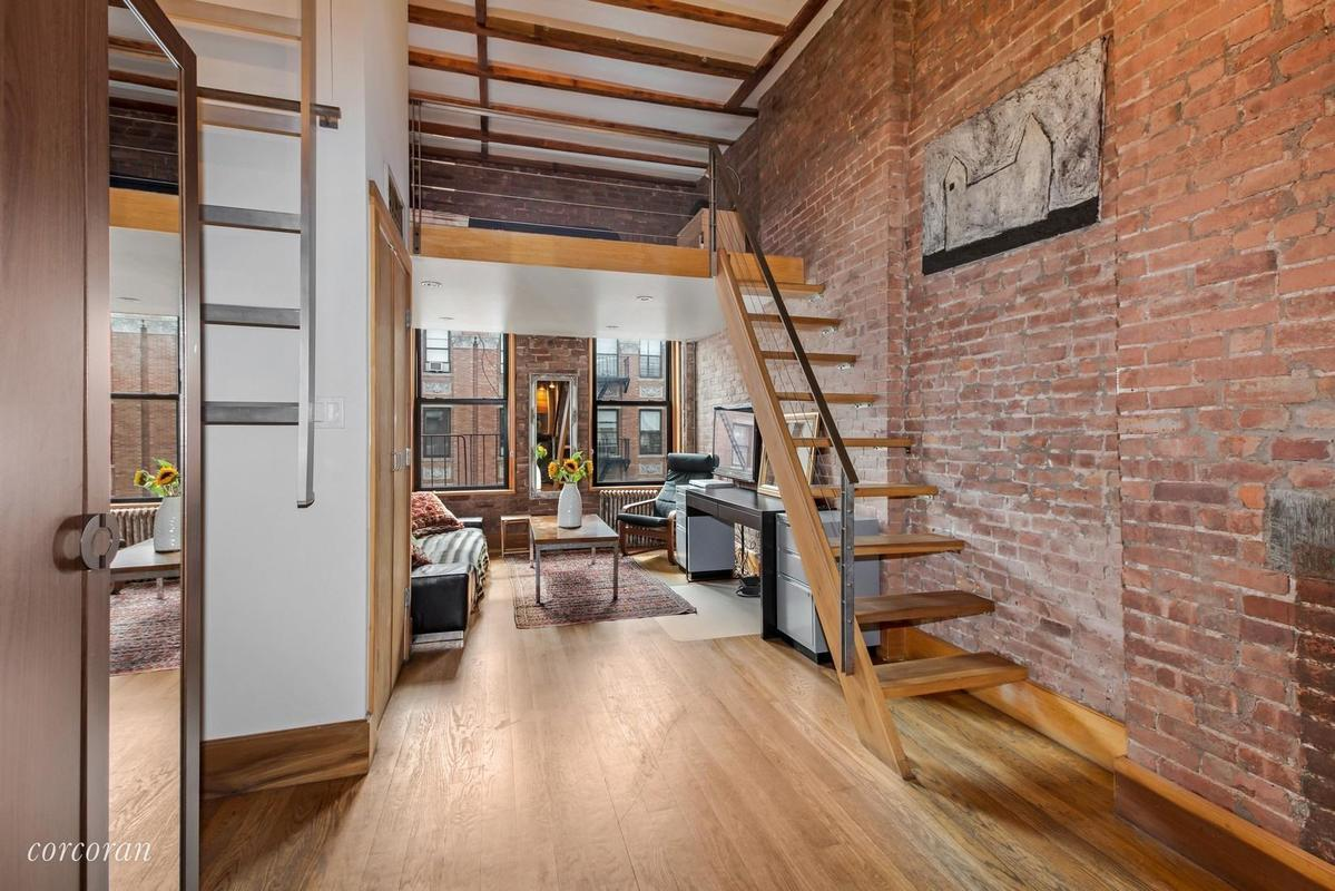Collectible Style In A One Bedroom Nyc Apartment: 186 E. Second St.: Loft Or Not, Tons Of Style For $460K