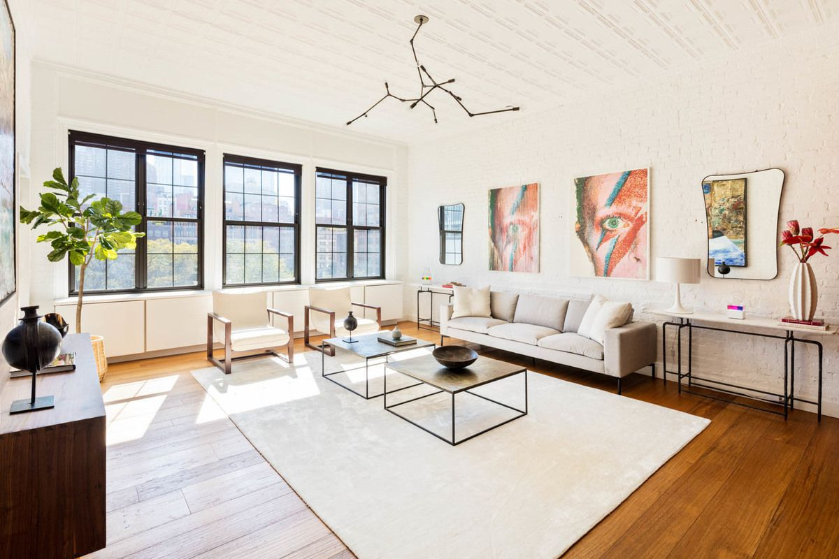 Townhouse Week: Tribeca Triplex Offers a Modern Version of Townhouse ...
