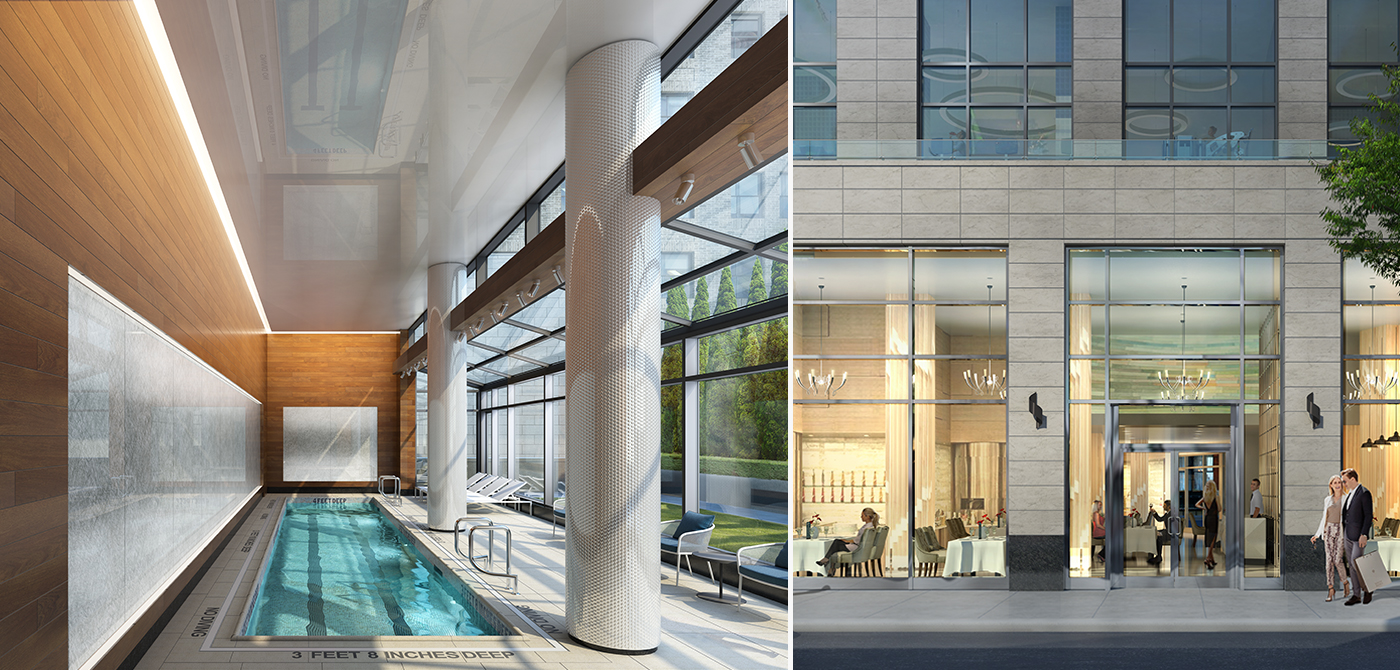 Housing lottery at 42 west 33rd st offers apts from 867 for Affordable rooftop pools nyc