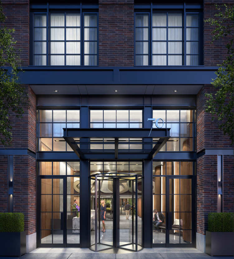 London Apartments Exterior: 70 Charlton Street In West SoHo Opens Housing Lottery