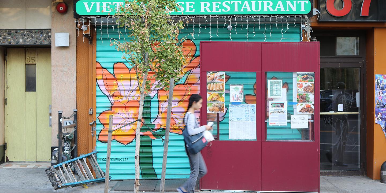 Image of street art nyc lower east side