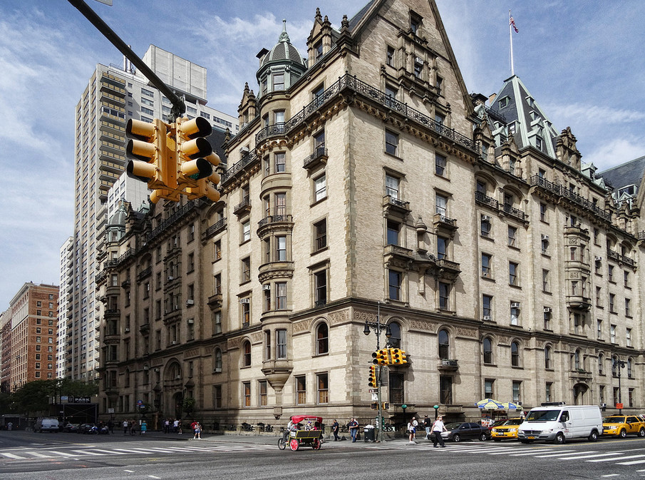 Image Of Iconic Apartment Buildings NYC