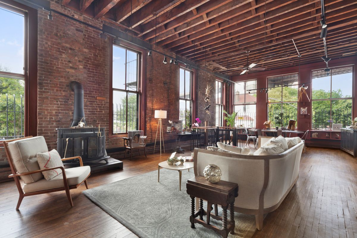 This Corner Triplex Loft Is Located In The Former Brooklyn City Railroad Company