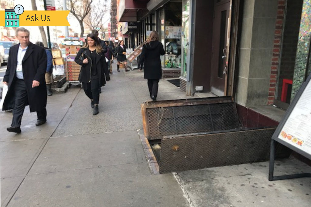 \u0027Where Can I Complain About Sidewalk Cellar Doors Left Open?\u0027 | StreetEasy & Where Can I Complain About Sidewalk Cellar Doors Left Open ...