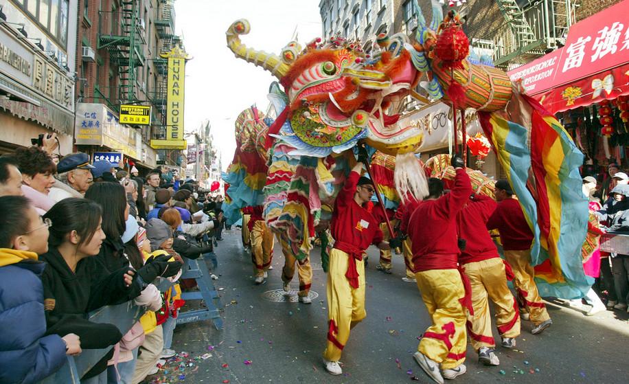 Chinatown Scene Analysis