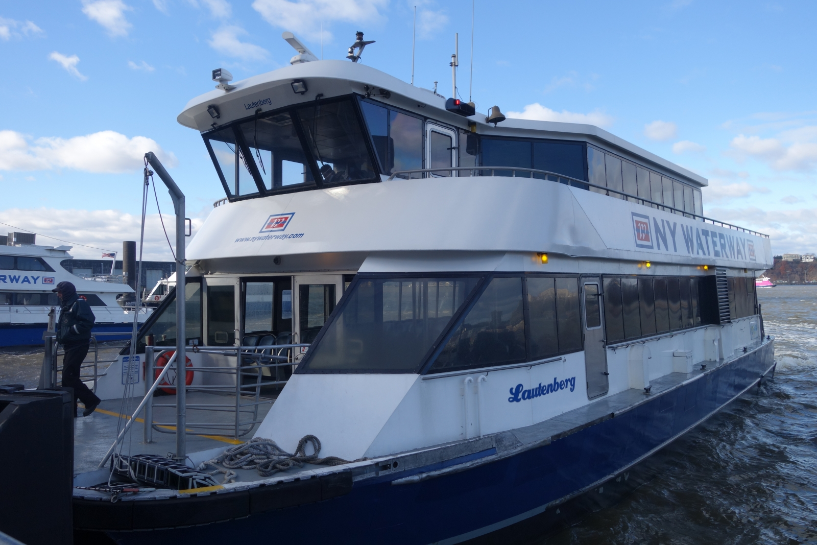NJ Ferry to NYC: Riding a Boat Over the Hudson From New