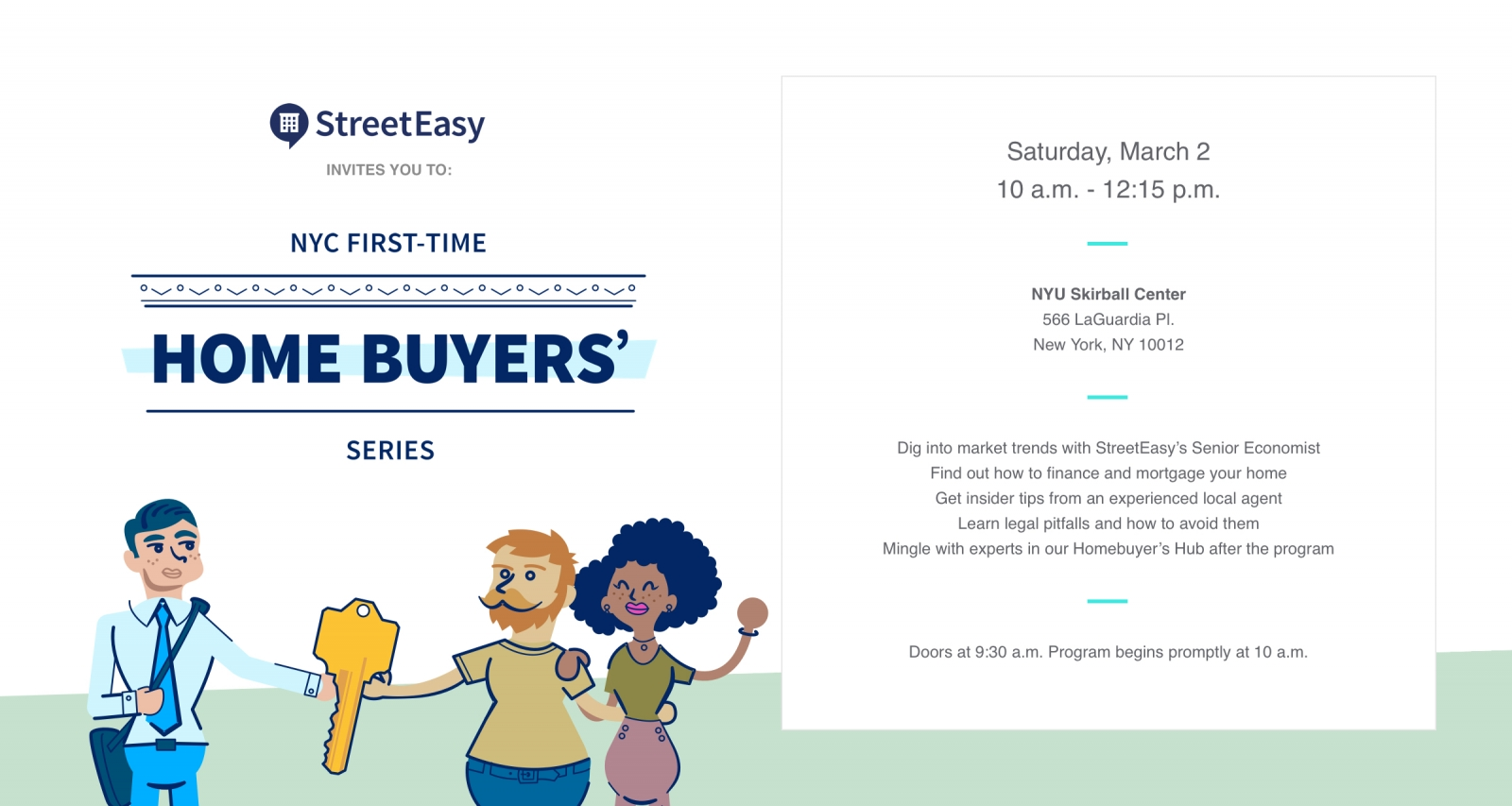 First-Time Home Buyer NYC: Free Event for New Buyers
