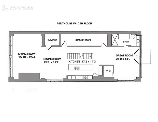 Floor plan 7th floor