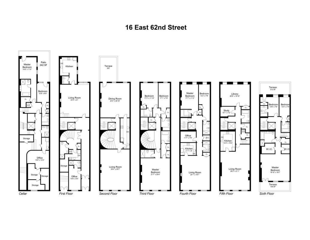 Baltimore row houses floor plan gurus floor for Row home floor plans