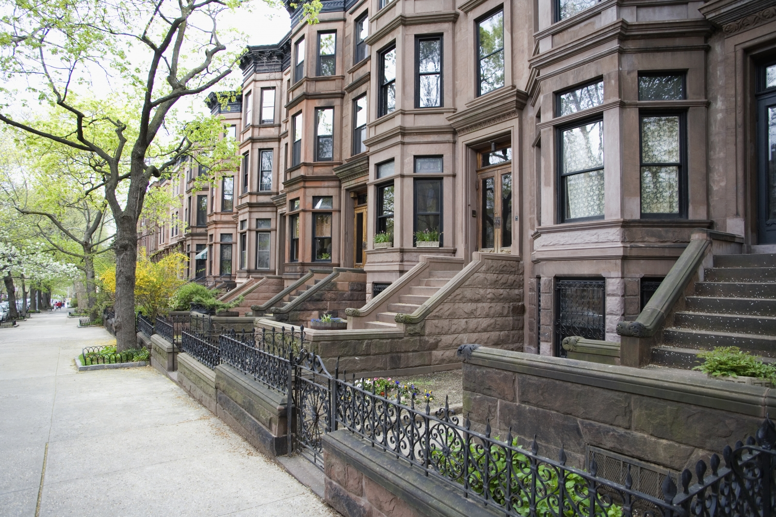 Image Of Nyc Brownstone