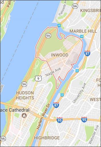inwood map