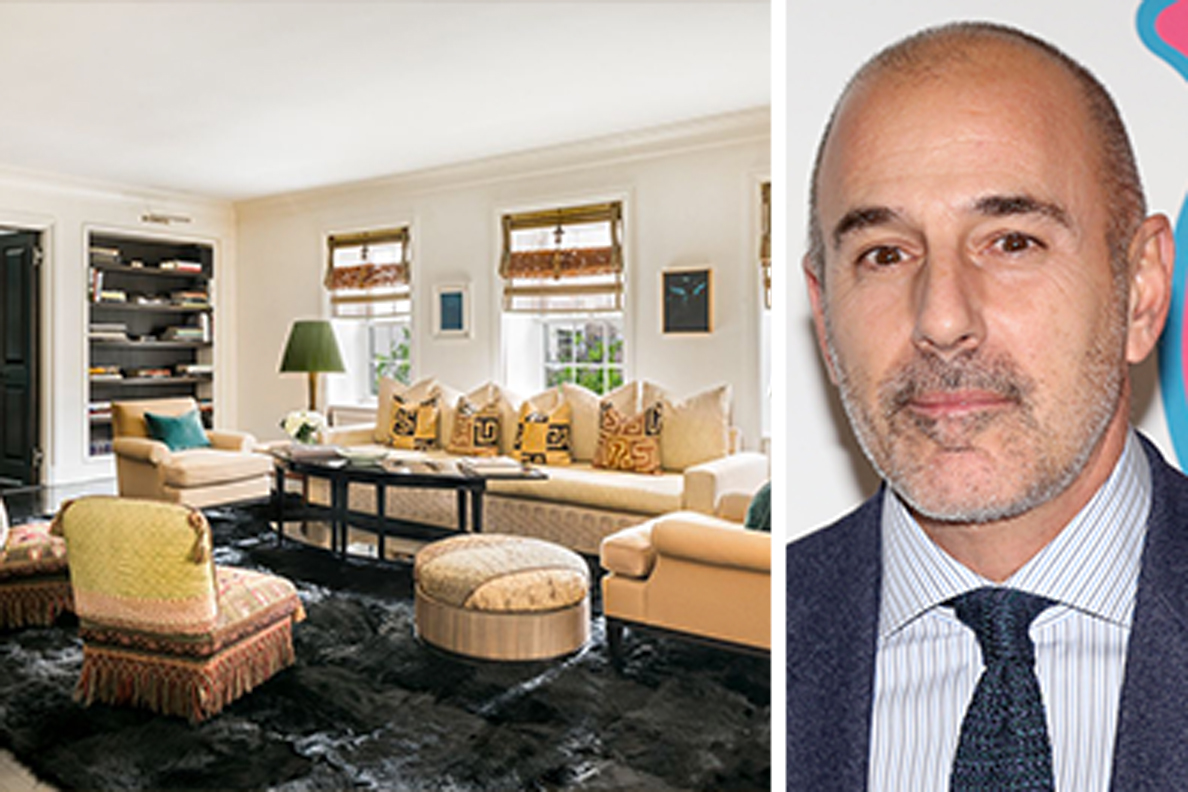 Matt Lauer Unloads Lenox Hill Apartment Listed For 7 35m Streeteasy