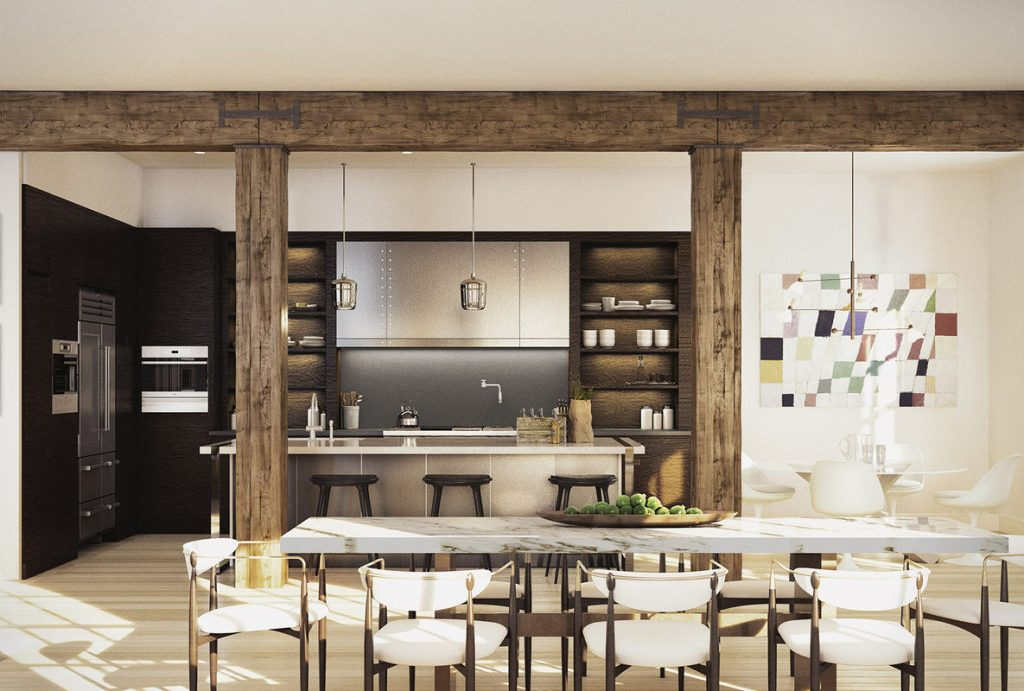 Photo of Mike myers kitchen tribeca