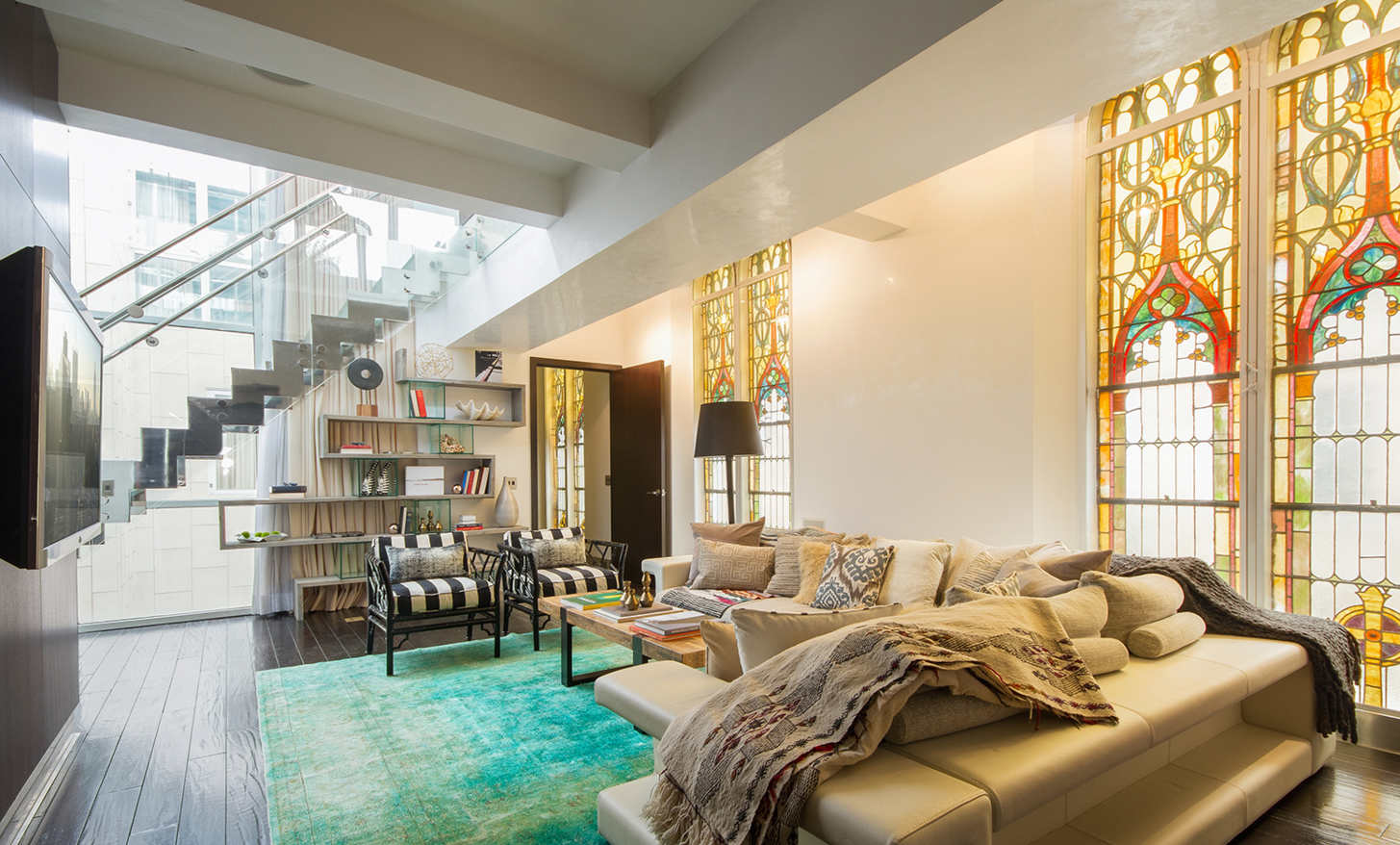 For sale a sampling of nyc churches turned condos for Nyc duplex for sale