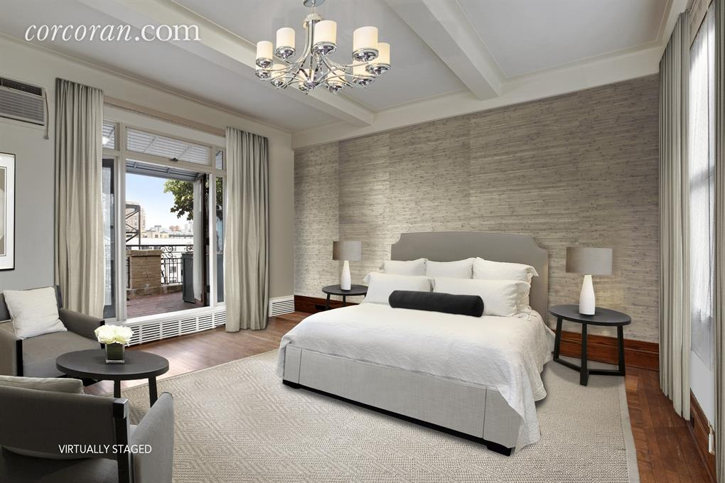 Penny Marshall staged bedroom