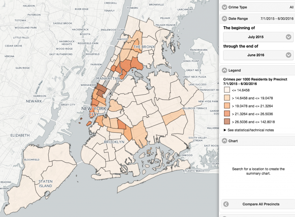 Brooklyn Zip Code Map 2017.What Are The Safest Areas In Nyc Streeteasy