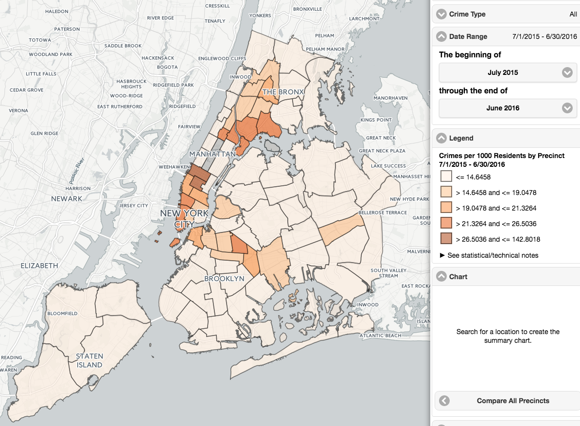 Map Of New York Neighborhoods Manhattan.What Are The Safest Areas In Nyc Streeteasy