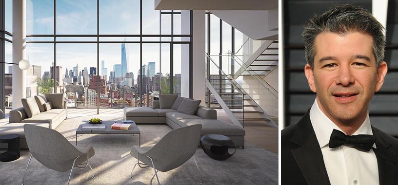 Travis Kalanick NYC Apartment: Uber Founder Buys $36M SoHo Pad