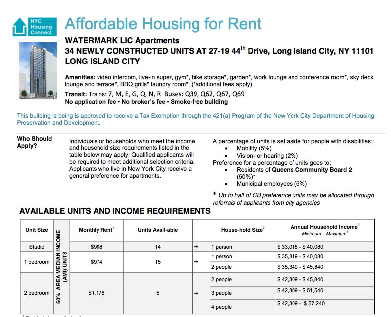 lic 309 Slick New Watermark LIC Opens Affordable Housing Lottery | StreetEasy