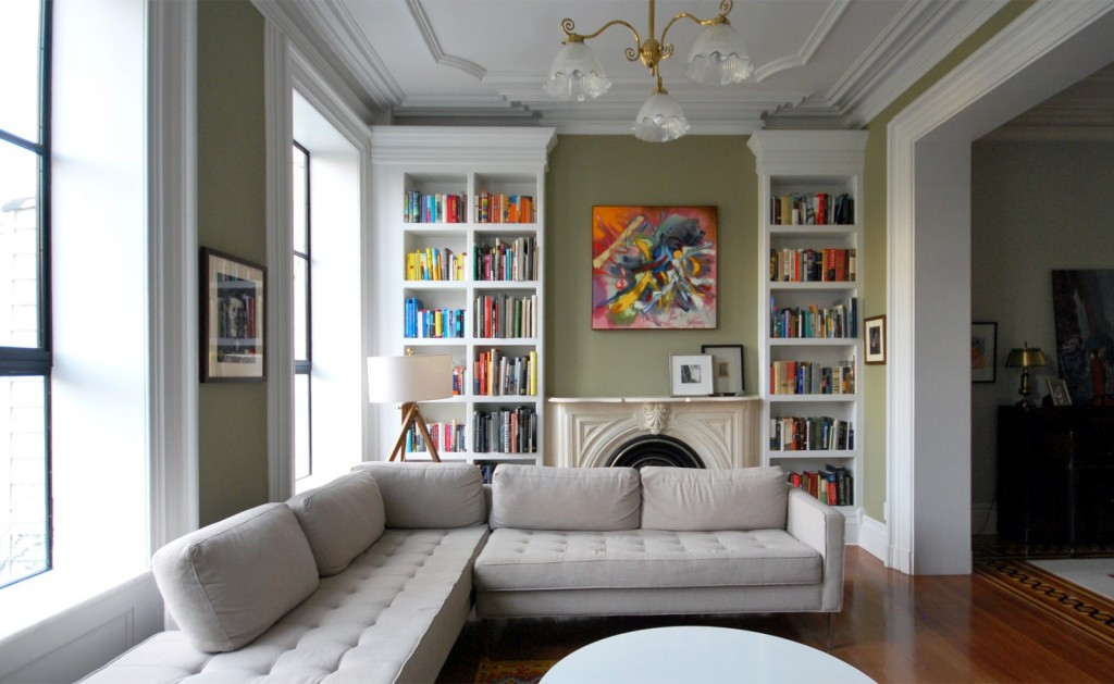 Superieur Zimmerman Workshop  Cobble Hill Townhouse  Back Parlor After 2
