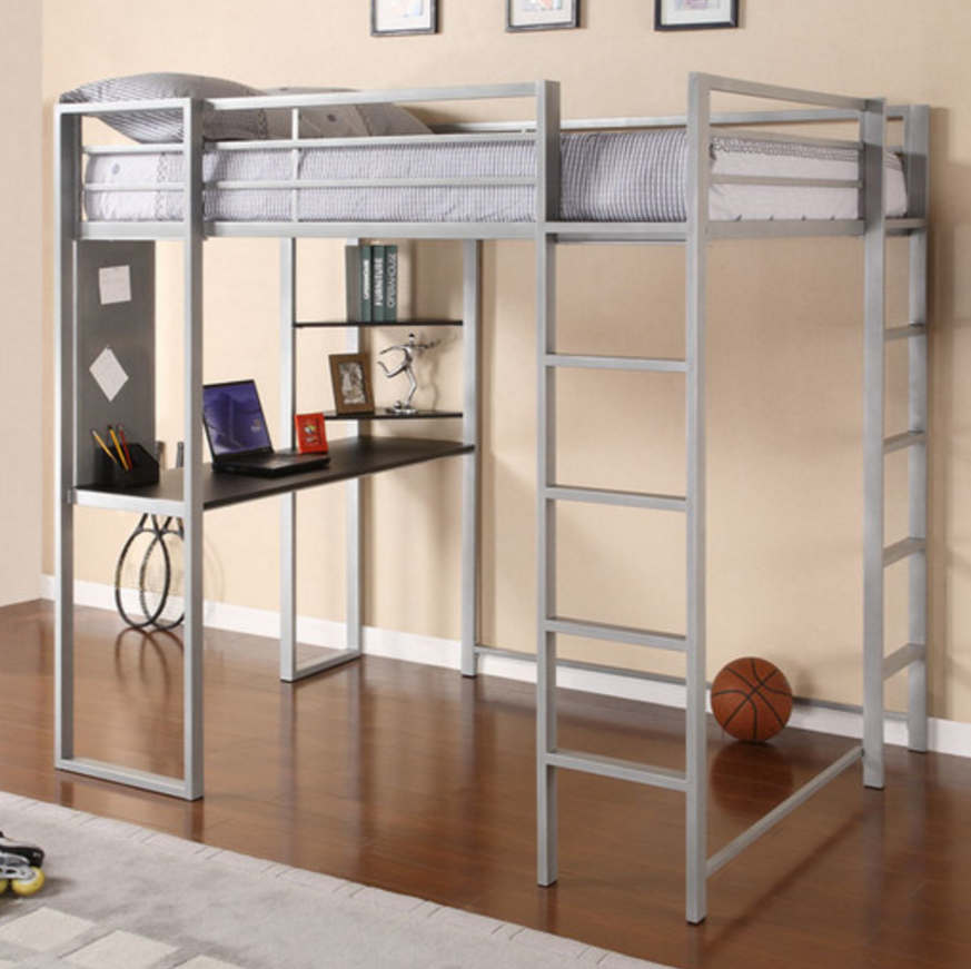 Adobe Full Loft Bed