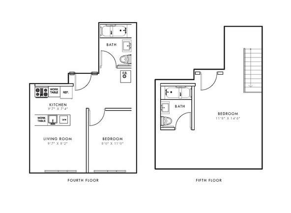 A Duplex Floor Plan