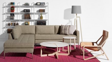 This is one sectional that might actually work in smaller spaces.