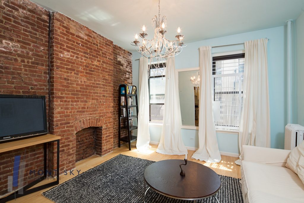 The Allure Of Exposed Brick Walls It's A NYC Thing StreetEasy Mesmerizing 1 Bedroom Condo Nyc Set Decoration
