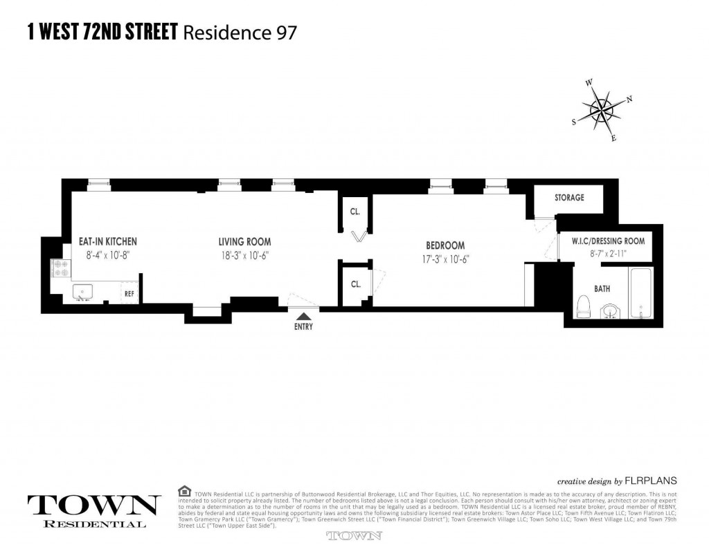 Dakota 1br for puts iconic building in play for for Dakota floor plan