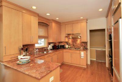 The kitchen at 5251 Fieldston Road.