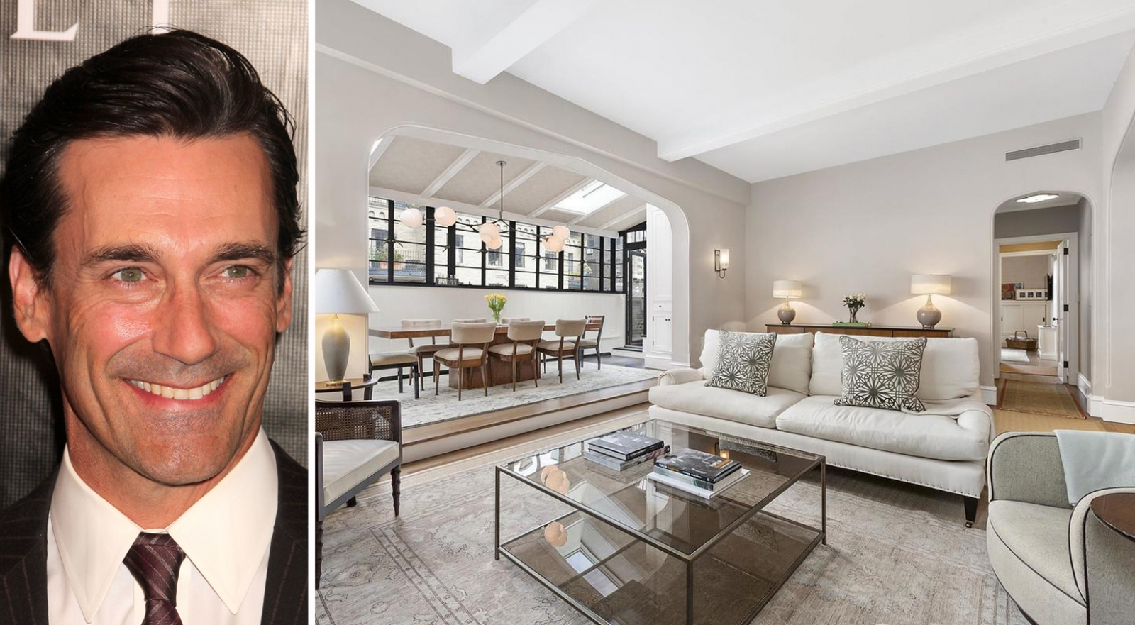 Jon Hamm Nyc Apartment Drapers Penthouse Now Renting Streeteasy