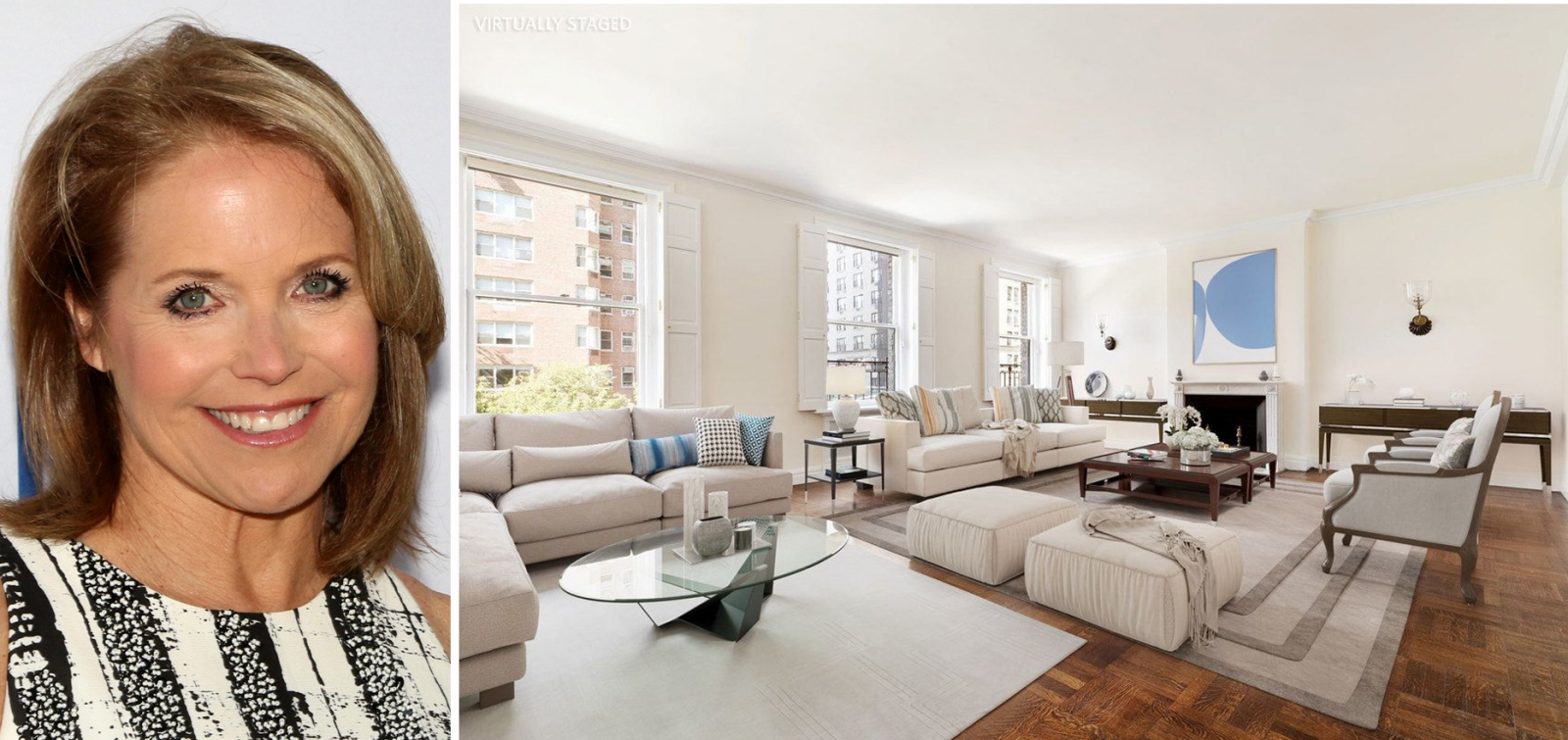 Last October News Anchor Katie Couric Decided To Put Her Longtime Carnegie Hill Apartment On The Market In February 2018 It Went Into Contract And Now We