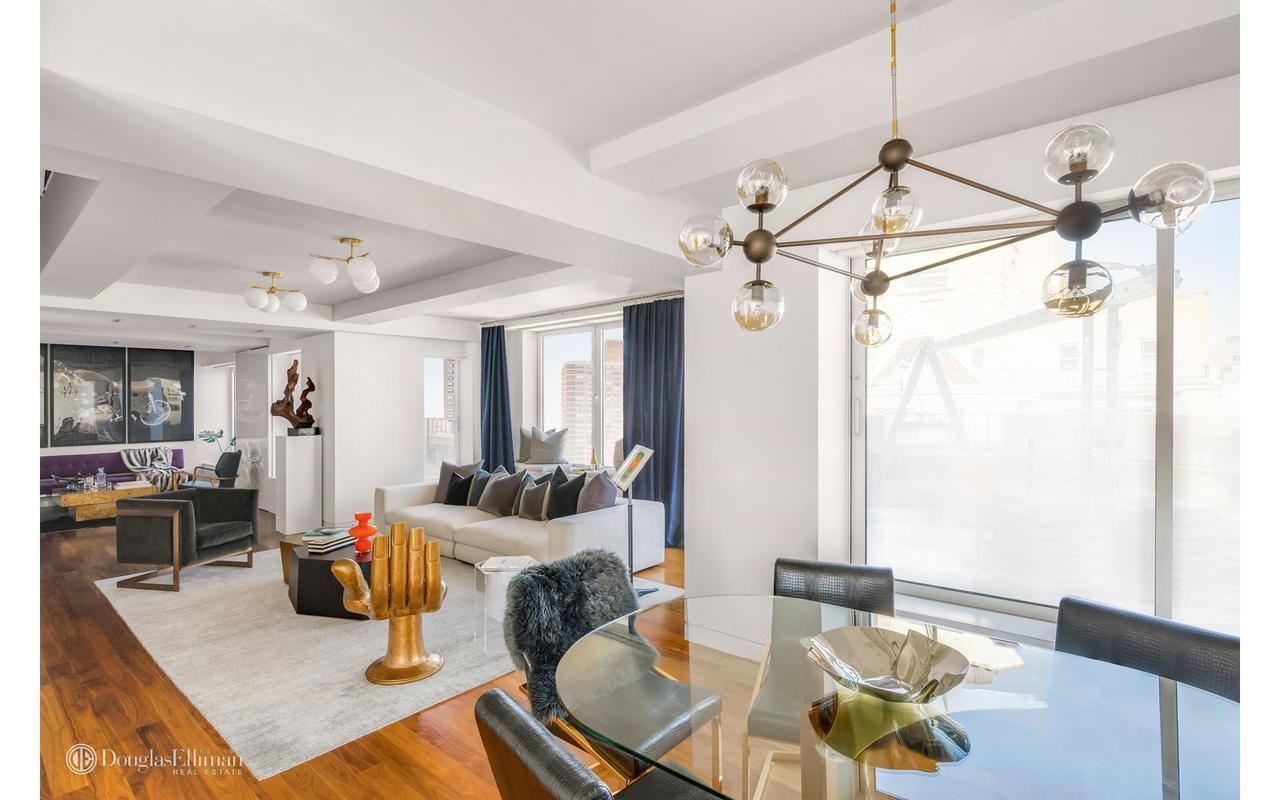 The New Interior Furnishings Come As The 4 Bedroom, 4 Bathroom Apartment  Has Been Placed Back On The Market This Week For $11.95 Million, Down From  The ...