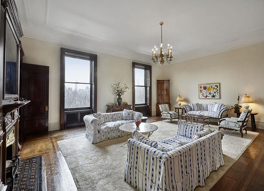 Lauren bacall s dakota apartment sold for 21m streeteasy for Dakota building nyc apartments for sale