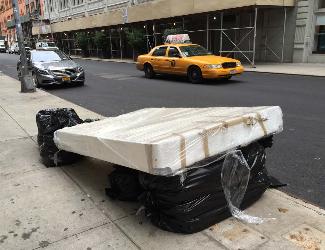 Mattress Wrapped Up