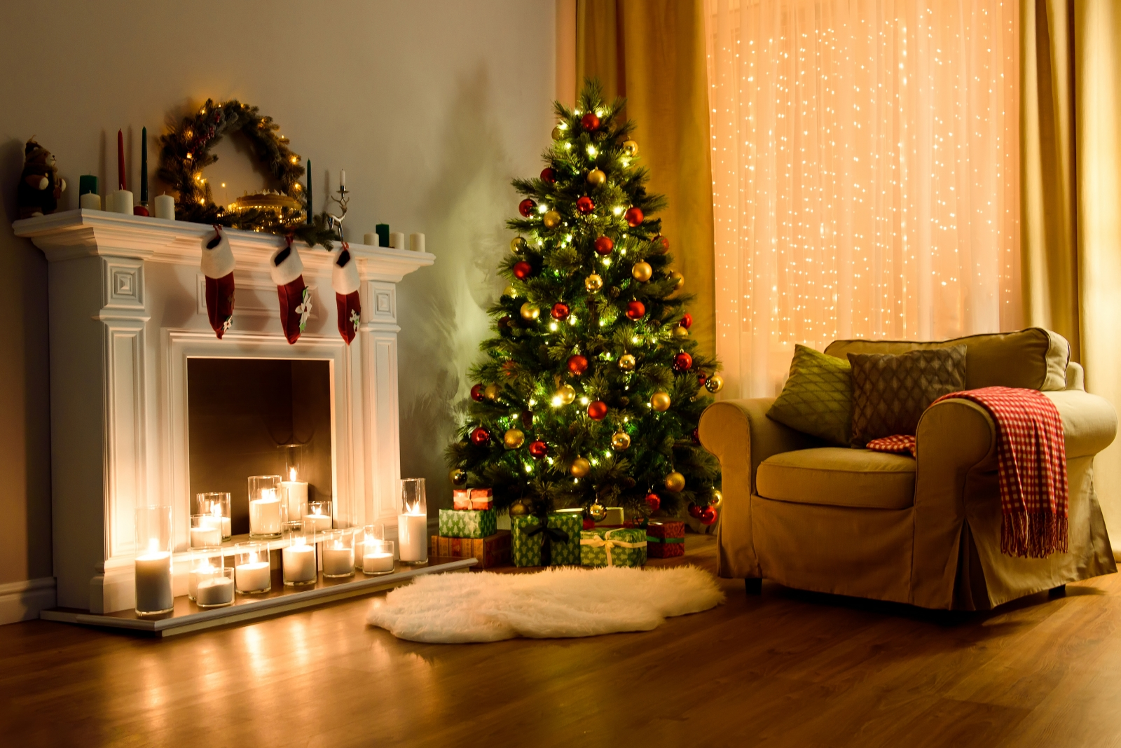 Where To Put Christmas Tree In Small Apartment