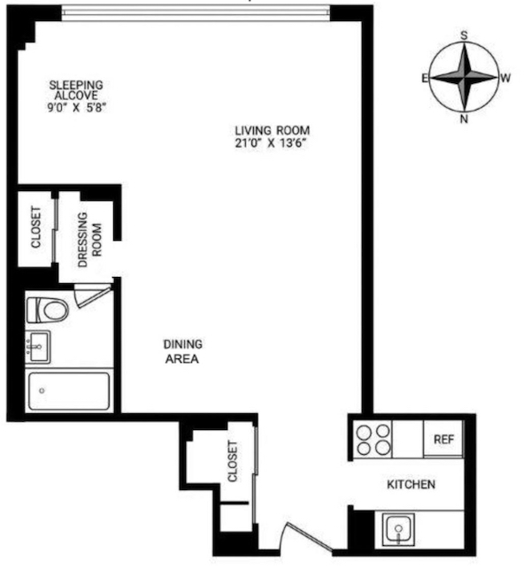 Studio Apartment Vs 1 Bedroom: Studio Vs. 1-Bedroom In NYC: What's The Real Difference